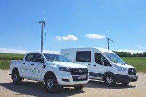 Fuhrpark von NBB Windpower