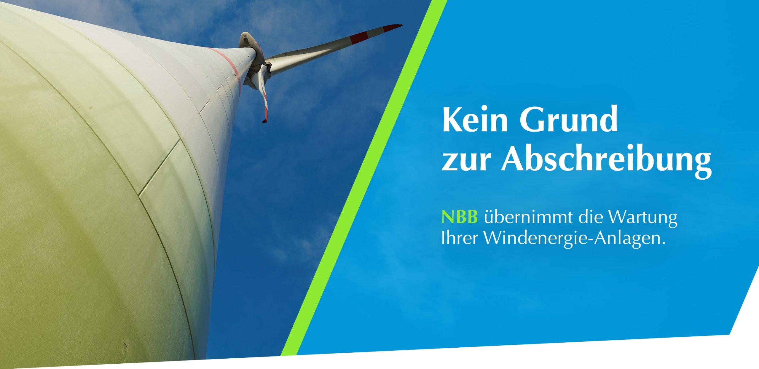 Wartung von Enercon Windenergie-Anlagen
