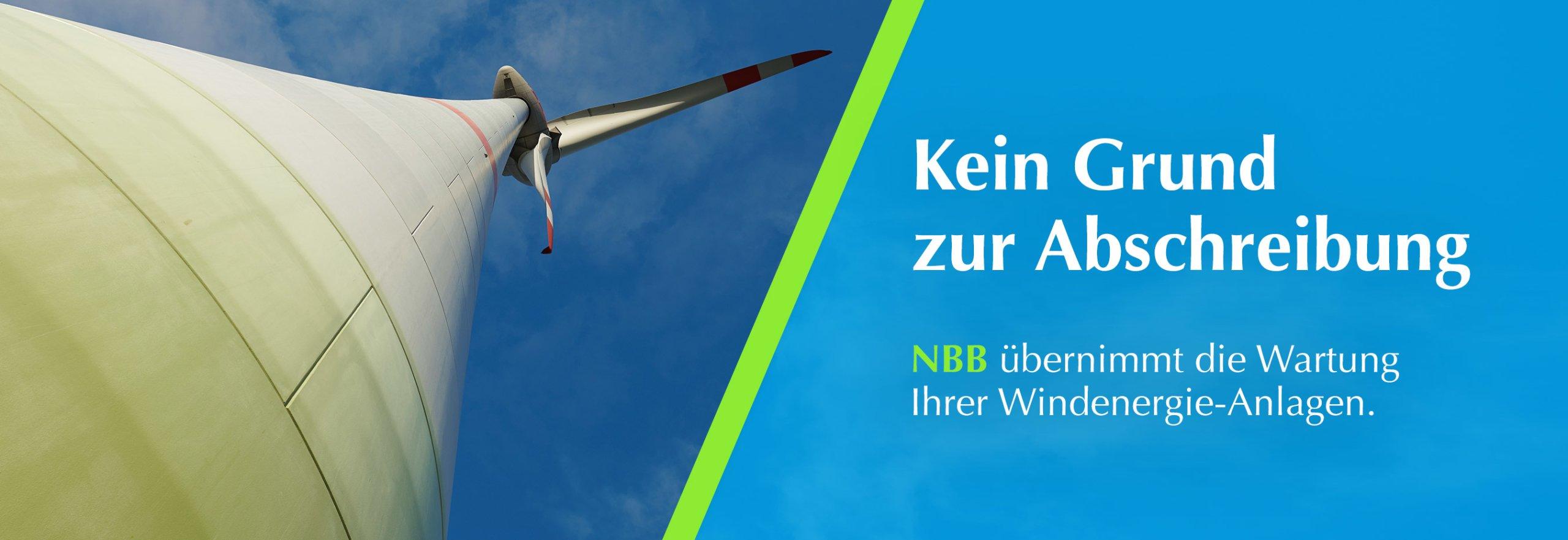 Wartung von Enercon Windenergieanlagen